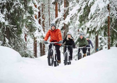 Winter fatbike tours and rental