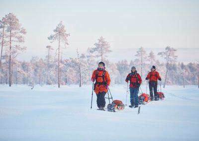 Wilderness Skiing