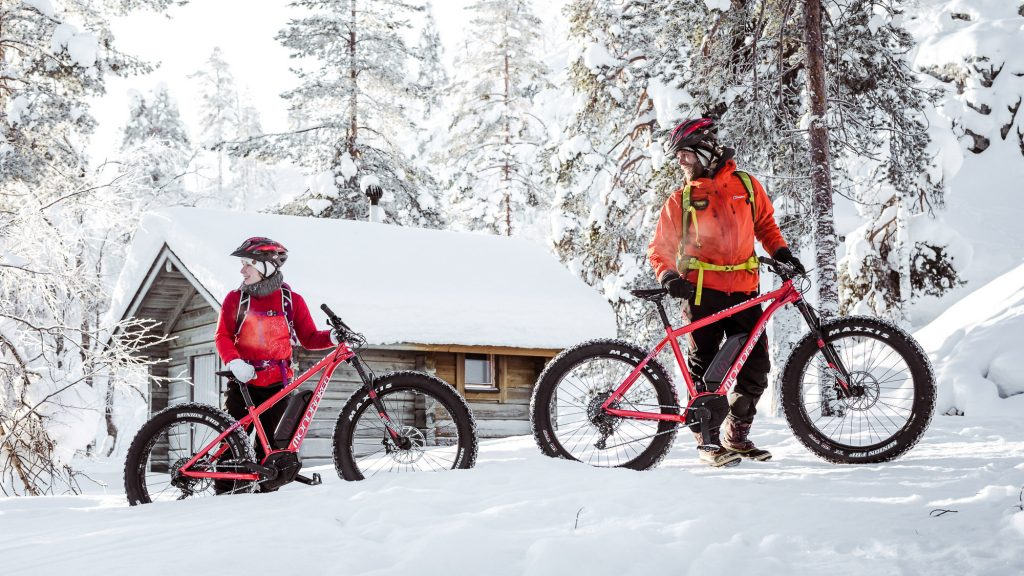e-fatbikes make it easy to ride in the snow