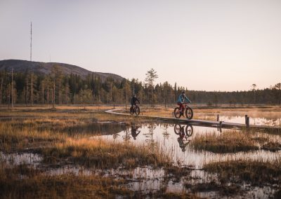 Summer / autumn fatbike tours and rental